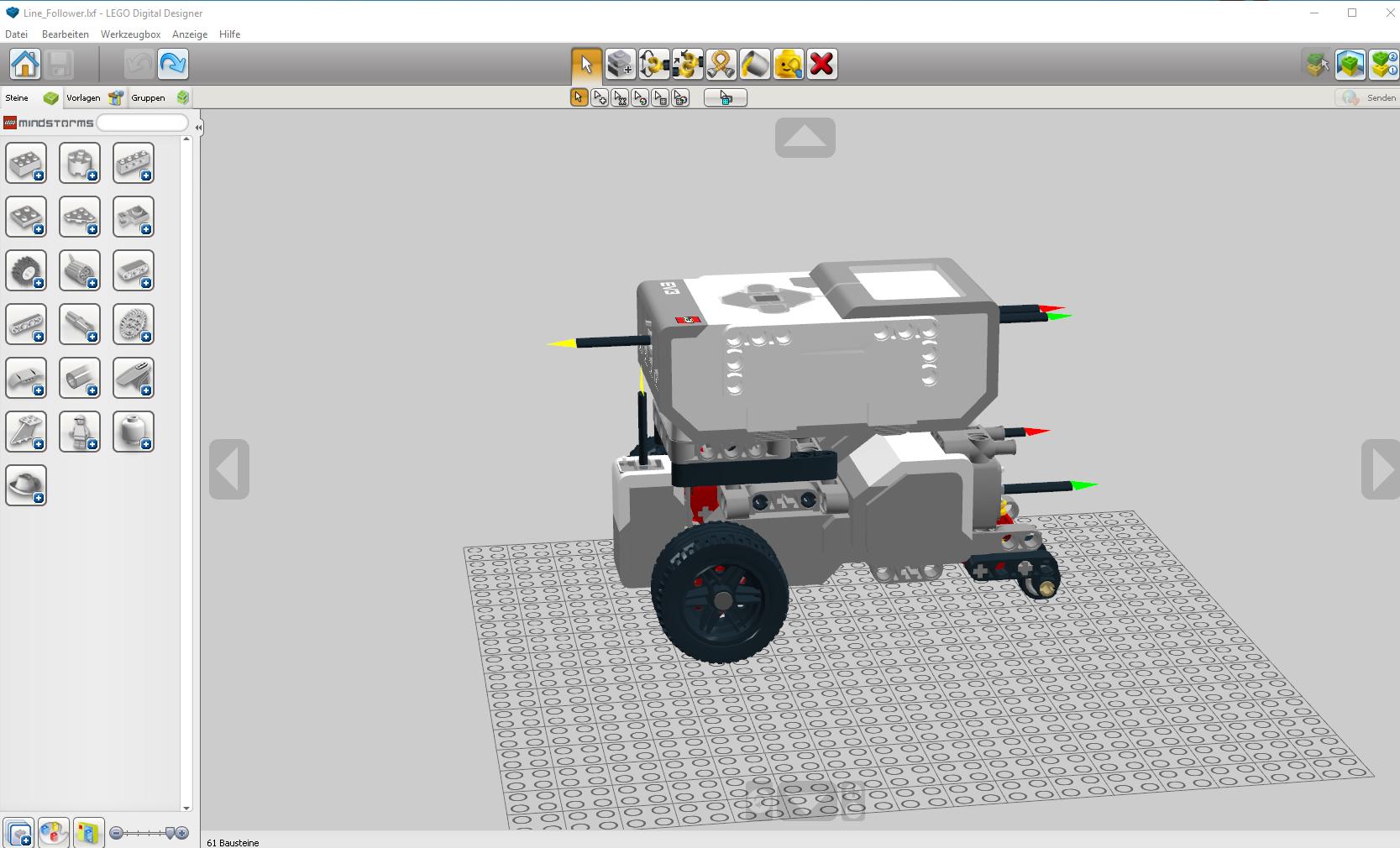 Lego Digital Designer Tutorial 3 Snot Techniken Youtube