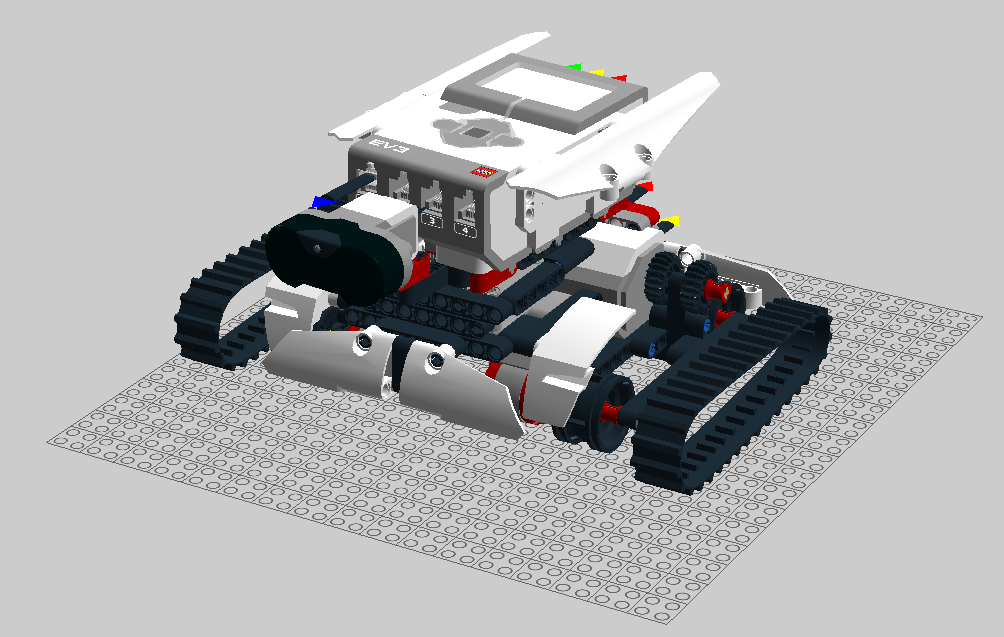 Tank-like explorer robot – blog.digidigital.de